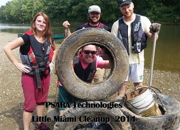 Little Miami Cleanup 9.17.14